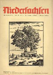 Niedersachsen Monatsschrift für Kultur-  Niedersachsen 46.Jahrgang 1941 Heft Juni