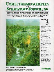 Hutzinger,O. (Hsg.)  Umweltwissenschaften und Schadstoff-Forschung Heft 3 September 1995