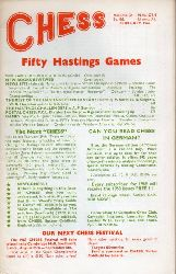 Chess  Fifty Hastings Games 1969