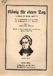 Adam;Adolphe  König für einen Tag (Wenn ich König wäre)