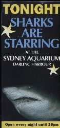 Sidney-Zoo  Sharks are starring.At the Sydney Aquarium darling harbour