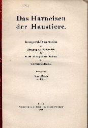 Reich,Max  Das Harneisen der Haustiere