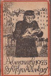 Almanach 1925  Almanach 1925 S.Fischer Verlag Berlin