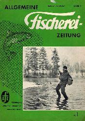 Allgemeine Fischerei-Zeitung  Allgemeine Fischerei-Zeitung 93.Jahrgang 1968 (Heft 5 fehlt) 23 Hefte