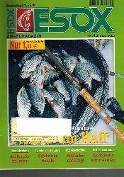Esox Angelmagazin  Esox Jahr 2006 Heft 1 bis 12 (12 Hefte)