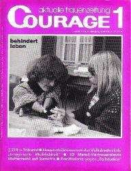 Courage  Courage 5.Jahrgang 1980 Heft 1-5 und 7-10 und 12 (10 Hefte)