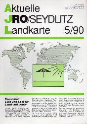 Aktuelle JRO-Seydlitz-Landkarte  Aktuelle JRO-Seydlitz-Landkarte 5 / 90, 37.Jahrgang