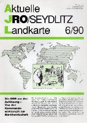 Aktuelle JRO-Seydlitz-Landkarte  Aktuelle JRO-Seydlitz-Landkarte 6 / 90, 37.Jahrgang