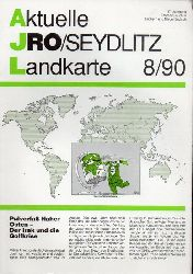 Aktuelle JRO-Seydlitz-Landkarte  Aktuelle JRO-Seydlitz-Landkarte 8 / 90, 37.Jahrgang