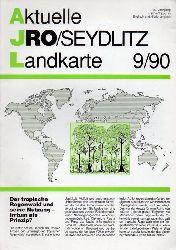 Aktuelle JRO-Seydlitz-Landkarte  Aktuelle JRO-Seydlitz-Landkarte 9 / 90, 37.Jahrgang