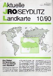 Aktuelle JRO-Seydlitz-Landkarte  Aktuelle JRO-Seydlitz-Landkarte 10 / 90, 37.Jahrgang