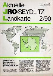 Aktuelle JRO-Seydlitz-Landkarte  Aktuelle JRO-Seydlitz-Landkarte 2 / 90, 37.Jahrgang