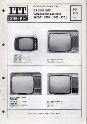 ITT Schaub-Lorenz  Service-Manual Studio 1205 Weltecho electronic 1459T - 1559 - 1659