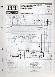 ITT Schaub-Lorenz  Module technique using VIDOM the fully integrated diagnostic system