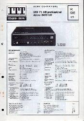 ITT Schaub-Lorenz  SRX 75 hifi professional stereo 3400 hifi