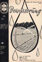 AID Auswertungs- und Informationsdienst e.V.  Bewässerung