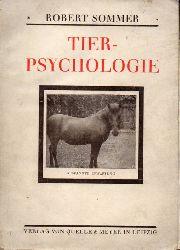 Sommer,Robert  Tierpsychologie