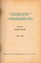 Niedersächsischer Heimatkalender 1948  Niedersächsischer Heimatkalender Zweiter Jahrgang 1948