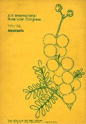 Abstracts  XIII International Botanical Congress