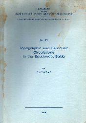 Berichte a.d.Inst.f.Meereskunde Kiel Nr.25  Simons,T.J.:Topographic an d Baroclinic Circulations in the Southwest