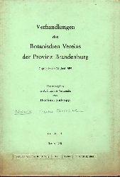 Böcker,Reinhard  Vegetations-und Grundwasserverhältnisse im Landschaftsschutzgebiet Teg