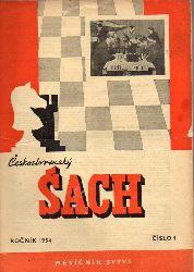 Ceskoslovenski Sach  Ceskoslovenski Sach Rocnik XLVIII,Hefte No. 1 und 11 (2 Hefte)