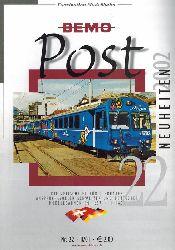 BEMO-Modelleisenbahnen GmbH  BEMO-Post Nr. 22 - II/01 Neuheiten 2002