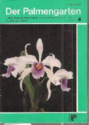 Der Palmengarten  Der Palmengarten 36.Jahrgang 1972, Heft 4