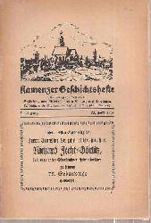 Geschichts- und Altertumsverein Kamenz (Hsg.)  Kamenzer Geschichtshefte 5.Jahrgang 1934 (2 Hefte)