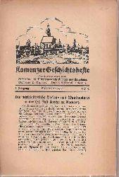 Geschichts- und Altertumsverein Kamenz (Hsg.)  Kamenzer Geschichtshefte 7.Jahrgang 1935 (4 Hefte)