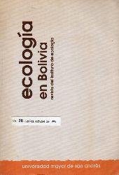 Instituto de Ecologia  Ecologia en Bolivia