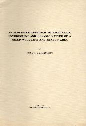 Andersson,Folke  An Ecosystem approach to Vegetation, Envorinment and Organic Matter