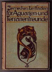 "Zernecke, Dr.E.  "" Leitfaden für Aquarien- und Terrarienfreunde """