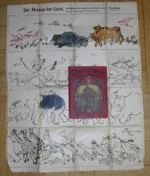 """Hrsg. Bötticher , Georg  """" Auerbachs Deutscher Kinderkalender  1918 MIT  Spielbeilage """""""