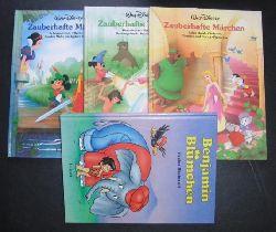 Disney , Walt    Konvolut 3 Bände  Zauberhafte Märchen  + Benjamin Blümchen in der Steinzeit