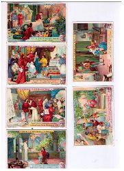 Hrsg- Liebig - Fleisch - Extrakt  Fleisch - Extract   6 Bilder zu Raphael