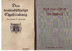 """Lorenz,Dr. Hermann  """" Das tausendjährige  Quedlinburg"""""""