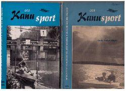 """Hrsg.  Deutscher Kanu - Sport - Verband   """" Der Kanusport  - Mitteilungsblatt des Deutschen Kanu - Sport - Verbandes im Deutschen Turn - und Sportbundes 1964  - 11. Jahrgang vollständig !!  + 1 Zugabe """""""