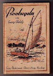 """Belitz , Georg von  """" Bootsegeln - Eine kurzgefaßte Einführung in den Segelsport """""""