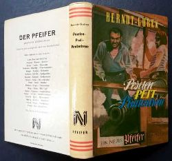 Berndt - Guben  (Berndt Karl-Heinz)   Peseten  -  Pest - Piratentreue - Erstausgabe
