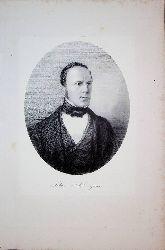 SPEISER, Johann Jakob Speiser (1813-1856) Schweizer Textilkaufmann und Manager