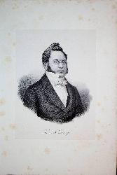 DRUEY, Henri Drüey (1799-1855) Schweizer Rechtsanwalt, Philosoph und Politiker
