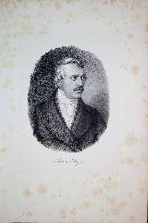 STEIGER, Jakob Robert Steiger (1801-1862) Schweizer Arzt und Politiker