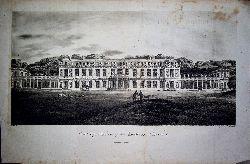 CHÂTEAU DE CHANTELOUP  Ansicht, vue, Titel: Chanteloup, The Seat of the Duke de Choiseul