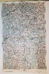 Mainz - Land: Preußen/Baiern/Hessen/Baden (= General-Karte von Mittel-Europa 1:200 000. 65. 26° 50°)