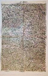 Leutschau - Land: Ungarn/Galizien (= General-Karte von Mittel-Europa 1:200 000. 101. 38° 49°)