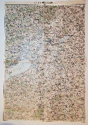 Stuhlweiszenburg - Land: Ungarn (= General-Karte von Mittel-Europa 1:200 000. 147. 36° 47°)
