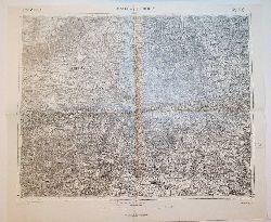 Aussig und Leitmeritz -Land: SACHSEN/BÖHMEN (= Specialkarte der Österreichisch-Ungarischen Monarchie - 1:75 000 Zone 3, Colonne X [Band: 3752])