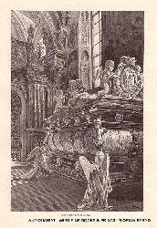 SECKAU / Basilika Seckau, Innenansicht, Habsburger Mausoleum Kenotaph