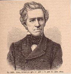 GRILLPARZER, Franz Grillparzer (1791-1872) Schriftsteller